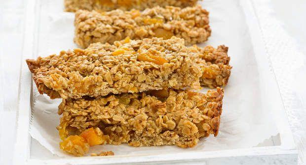 Flapjacks (Biscuits aux flocons d'avoine)