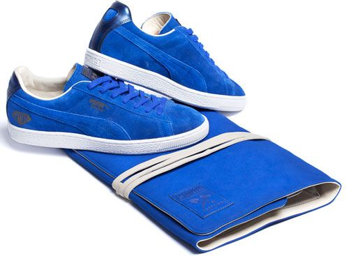 Puma 45th Anniversary Sapphire Suede trainers - only 450 pairs worldwide