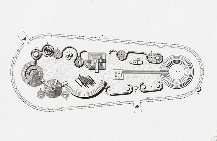 spaceandshape:  Richard Dattner, plan for an adventure playground (1966)