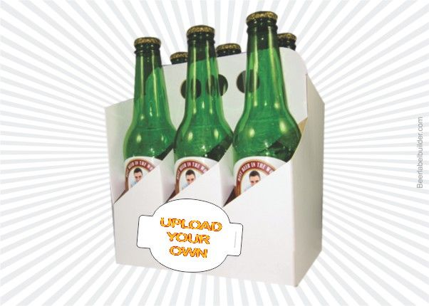 79 best diy beer labels images on pinterest beer labels for Six pack holder template