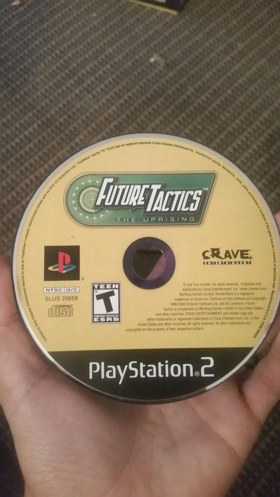 future tactics the uprising ps2