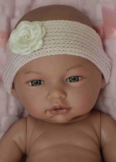 Realistické miminko holčička Laděnka od firmy Guca ze Španělska