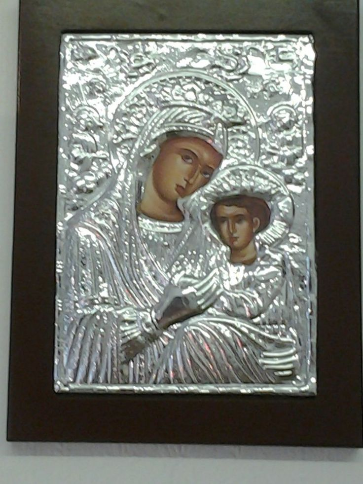 Virgin Mary Greek Byzantine Icon