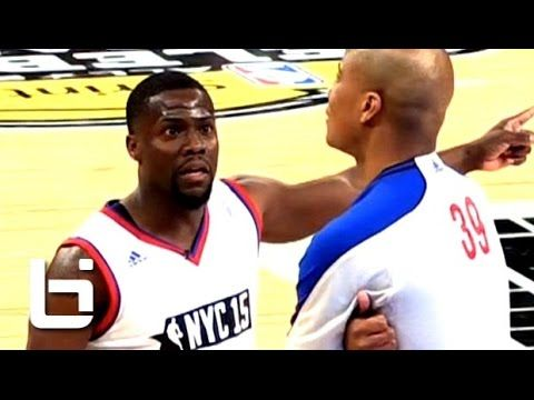 Kevin Hart FUNNY Basketball Moments On His Way to 4th Celebrity Game MVP...