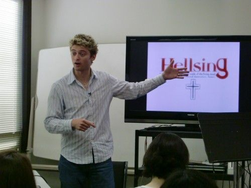 Crispin  Freeman's VoiceActing Mastery Classes