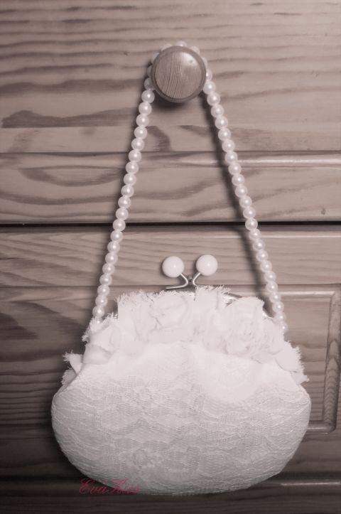 Elegáns-Romantikus vintage táska, EvaKiss, meska.hu #bride #bag