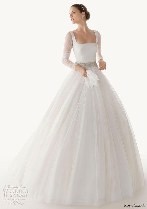 rosa clara 2013 belinda ball gown wedding dress long sleeves, bride, bridal, wedding gown, bridal gown, wedding