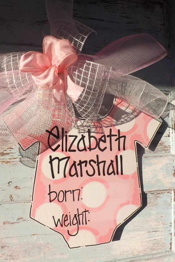 Baby Girl Announcement Baby Boy Announcement by BluePickleDesigns, $35.00