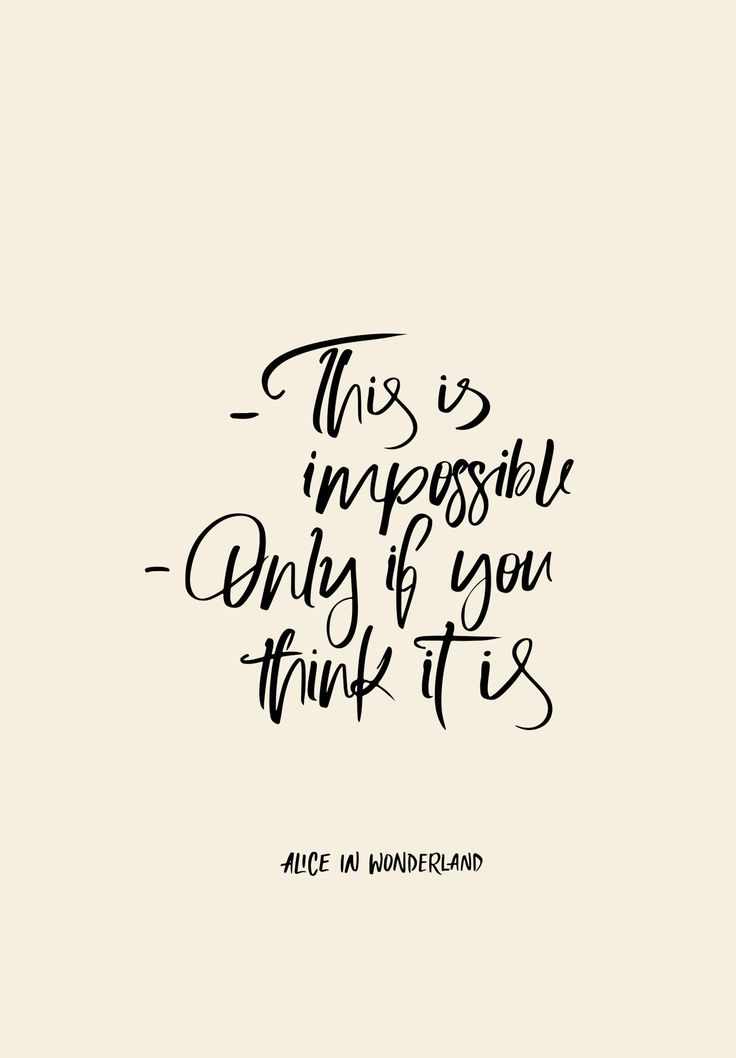 Wisdom from Alice in Wonderland