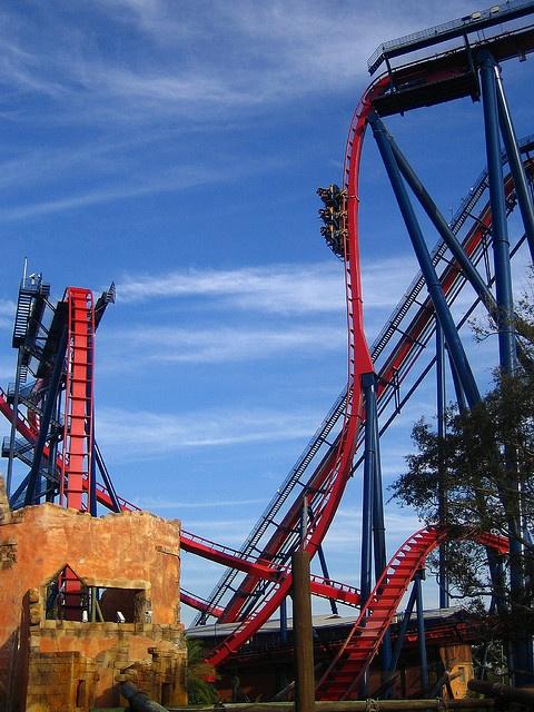 Sheikra, #Busch Gardens, #Florida. #rollercoaster @Busch Gardens Tampa