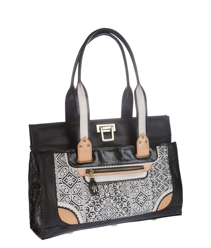 Spencer and Rutherford - quick_link - Work Satchel - Valentina - Mirror Mirror