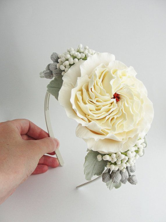 Headband Wedding dream от FlowerFromEugene на Etsy
