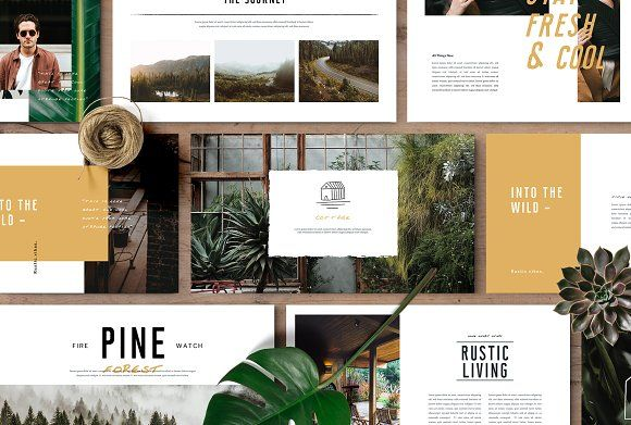 MONROE - Powerpoint Template by TempLabs on @creativemarket