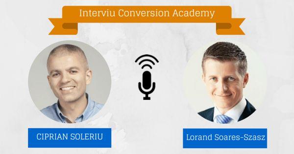 Creste o afacere extraordinara cu o echipa extraordinara. Interviu cu Lorand Soares Szasz