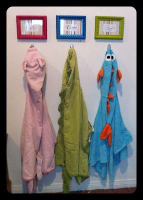 I need to do this in the bathroom so I will know who left their towel on the floor. ;)