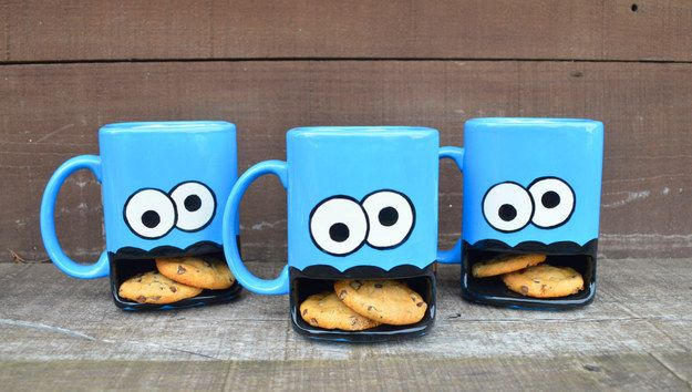 Milk and Cookies Mug   Community Post: 15 Secret Santa Gifts That Actually Don't Suck>> NO MYCROFT I AIN'T GETTING THIS FOR YOU!