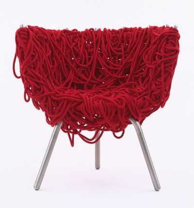 Rope chair by Campana Brothers