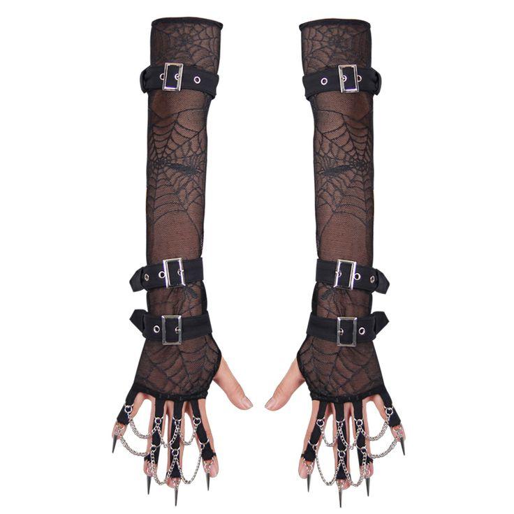 Ucuz Gotik Siyah Dirsek Örümcek Ağı Örgü File Kadın Parmaksız Eldiven Punk Kadınlar Örümcek Web Sapanlar ile Glives Slave Zincir Bileklik, Satın Kalite Eldiven& eldivenler doğrudan Çin Tedarikçilerden: gotik Siyah Dirsek Örümcek Ağı Örgü File Kadın Parmaksız Eldiven Punk Kadınlar Örümcek Web Sapanlar ile Glives Slave Zin 64 tl