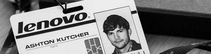 Ashton Kutcher a Lenovo arca - http://rendszerinformatika.hu/blog/2014/03/04/ashton-kutcher-lenovo-arca/?utm_source=Pinterest&utm_medium=RI+Pinterest