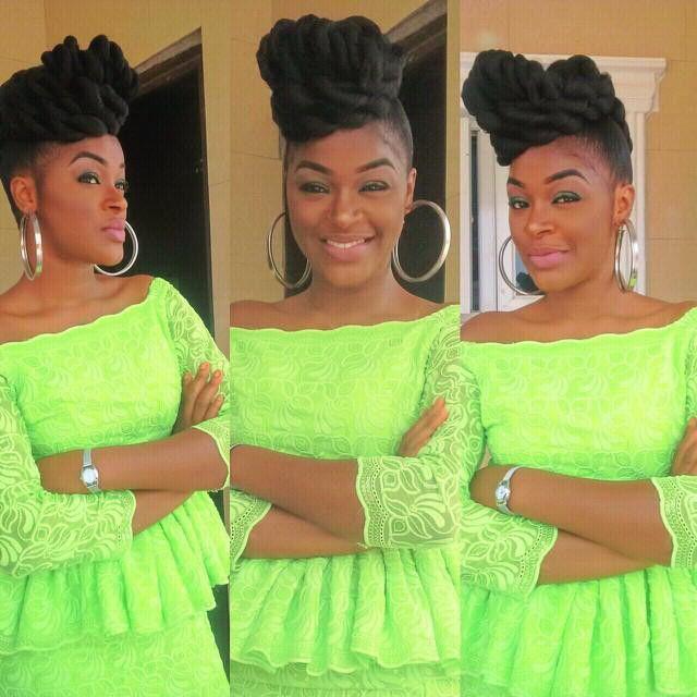 Celebrity Wedding Nollywood Movie: Nollywood Actress Chacha Eke Rocks Ankara Pants Like No