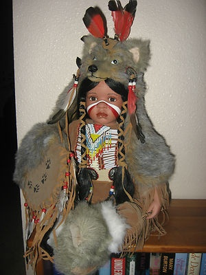 Timeless Indian Collection Porcelain Indian Doll   eBay ...