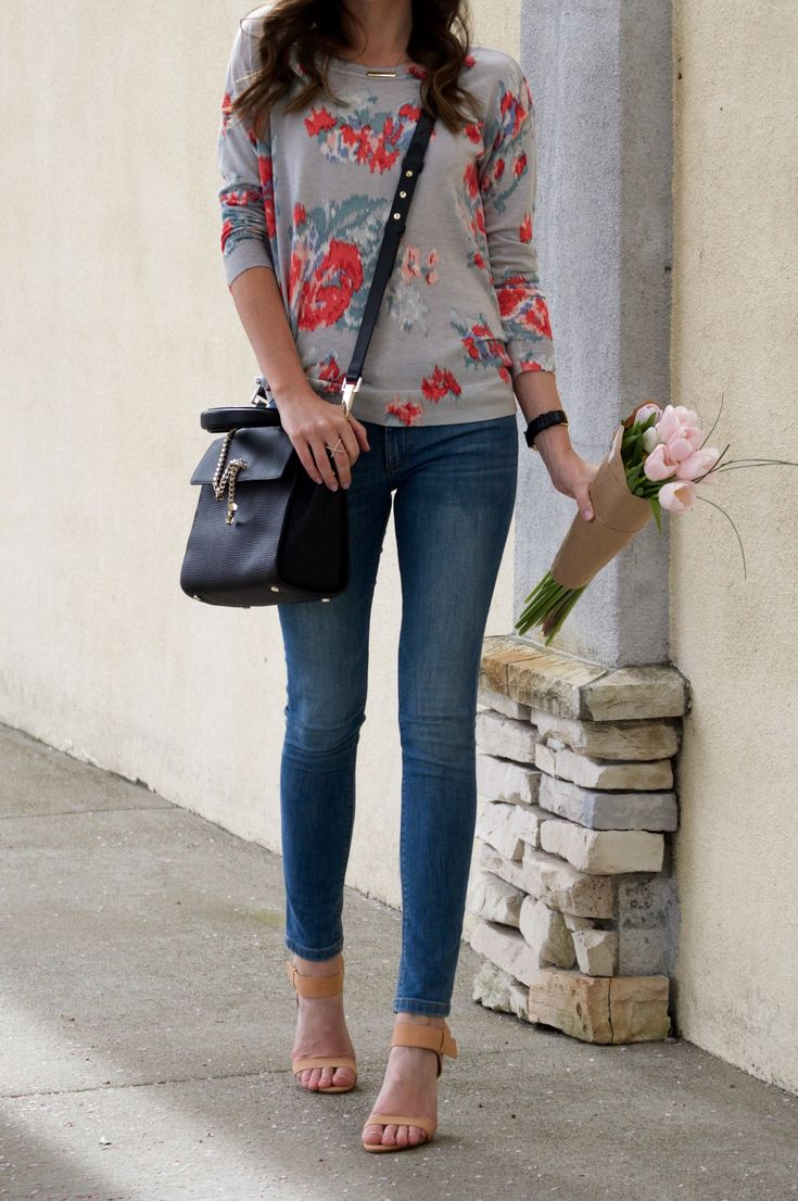 stitch fix floral top