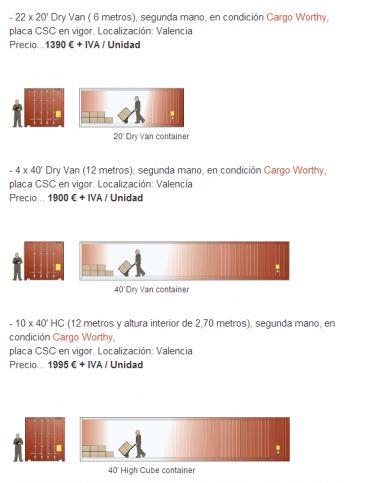 precio contenedores maritimos  #RePin by AT Social Media Marketing - Pinterest Marketing Specialists ATSocialMedia.co.uk