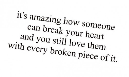 So unbelievably true. Love can make you do some crazzzy things!