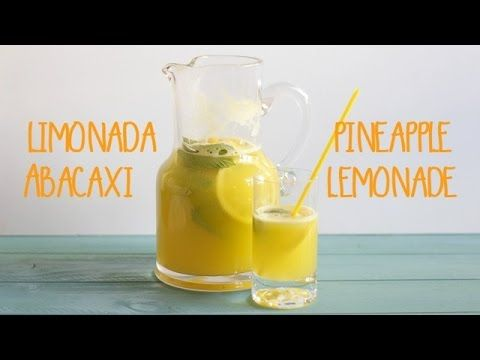 limonada de abacaxi | pineapple lemonade - YouTube