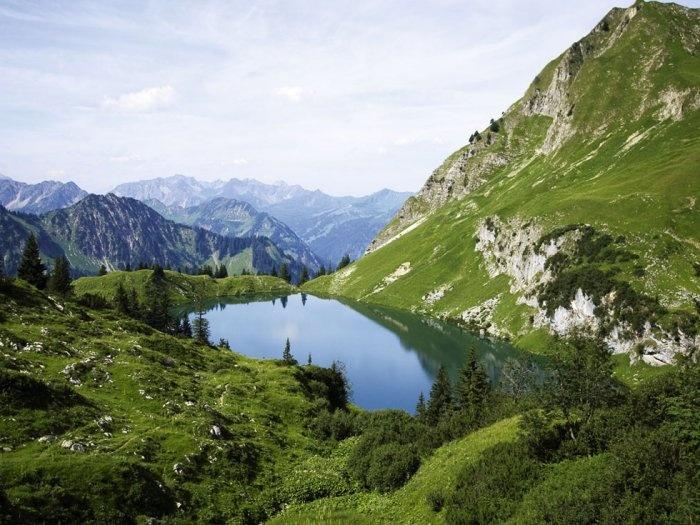 Allgäuer Alpen #Allgaeu #Alpen #Bayern