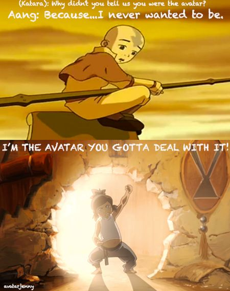 One reason I like Korra so much better than Aang