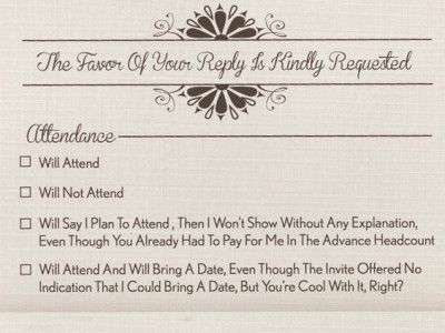 This Wedding Invitation Says Everything You Cantbut Wish Could