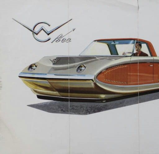 1959 Curtiss-Wright Air Car : the Bee