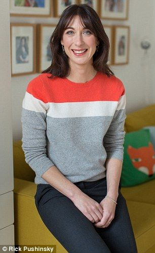 Samantha Cameron wearing one of our enamel Cosmos Biography Bracelets for her interview at Downing Street. #SamanthaCameron #AstleyClarke