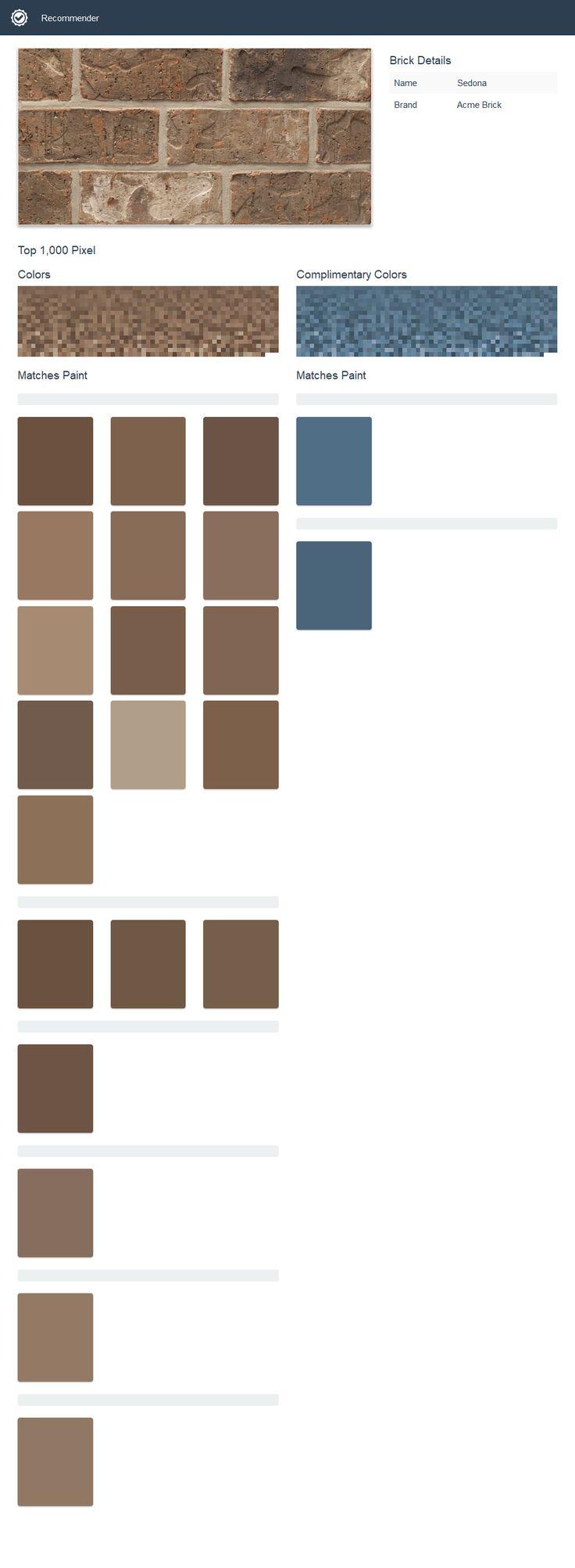 Sedona - Heritage Texture - Acme Brick and Paint