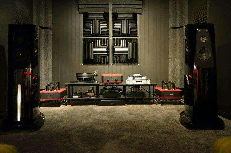 Rooms: High End Audio Audiophile Absolar Vacuum Tube Amp Hi Fi