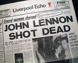 The Death of John Lennon | Best John Lennon The Beatles Music Legend Death 1980 Liverpool England ...