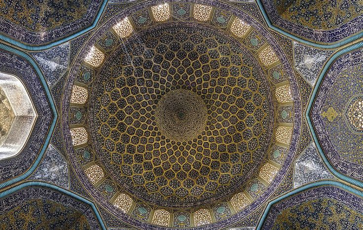 Mesmerizing Mosque Ceilings That Highlight The Wonders Of - The mesmerising architecture of iranian mosques