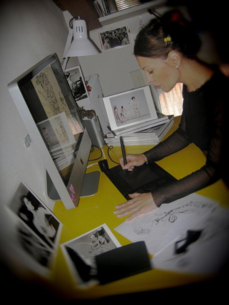 Danijela (Danny) Caran, Serbia. ELEMENTS MAGAZINE: EXCLUSIVE: Our Interview with Danijela Caran