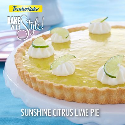 A Sunshine Citrus Lime Pie is the perfect way to brighten up any day!