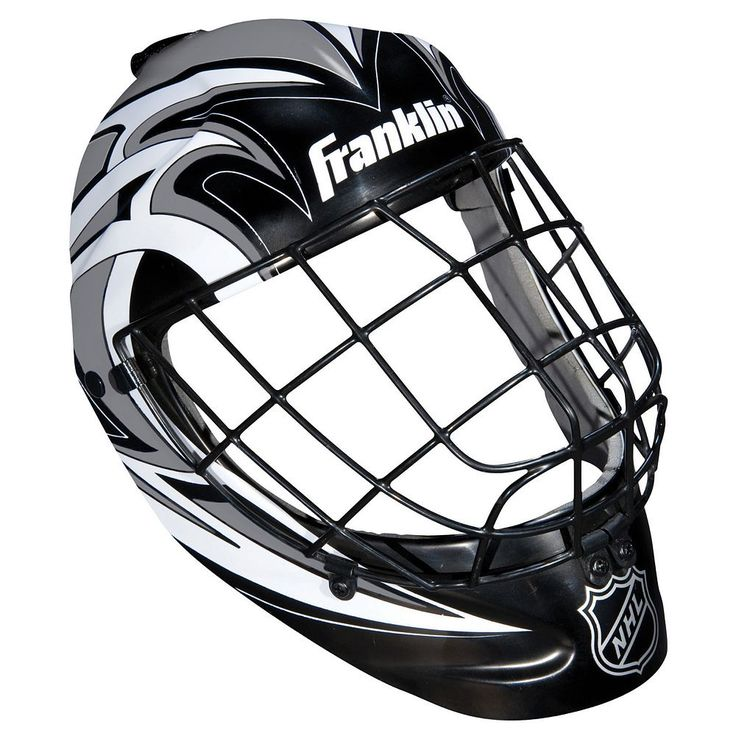 Franklin NHL Mini Hockey Goalie Equipment And Mask Set, Multicolor