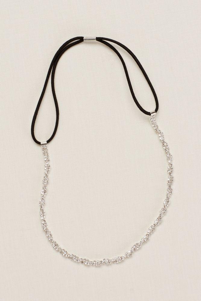 Twisted Rhinestone Headband Style SL0088HW