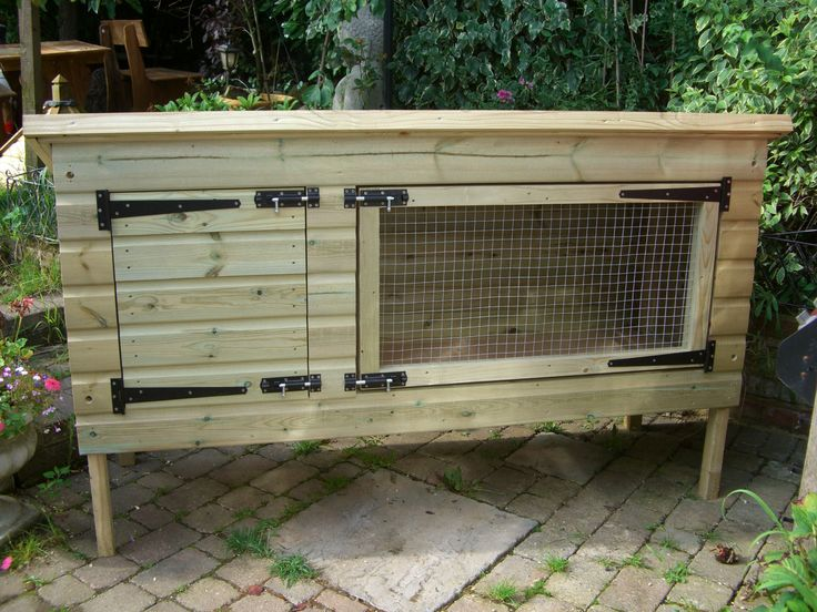 1000 images about rabbits on pinterest conditioning for Simple rabbit hutch plans