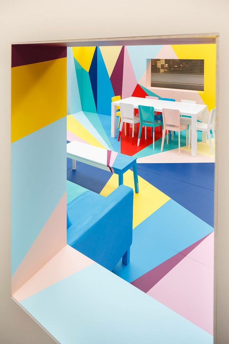 Painted furniture at The Colour Studio