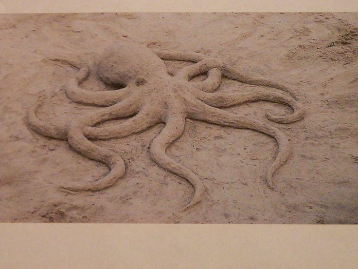 Sandcastle  .... sculpture  .... octopus