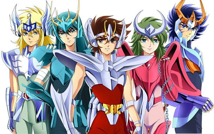 Hyoga, Shiryu, Seiya, Shun, Ikki