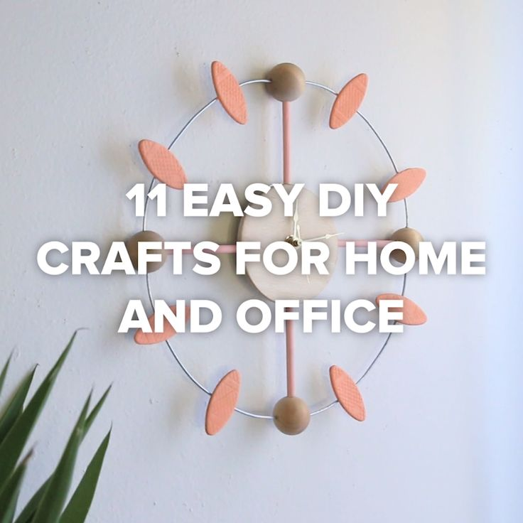 11 Easy DIY Crafts For Your Home And Office #creative #hack #office #supplies
