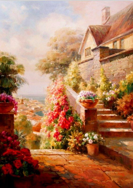 109 best oleos para pintar images on pinterest for Pinturas para pintar