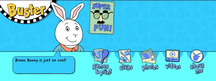 Arthur . Friends . Buster's Games & Printables Page   PBS Kids