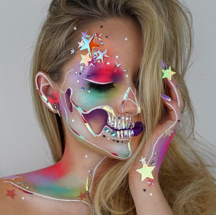 Best 25+ Unicorn makeup ideas on Pinterest | Alien makeup, Unicorn ...